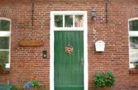 Pfarrhaus Tür