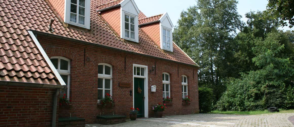 """Eingangsbereich Freizeitheim """"Altes Pfarrhaus"""" Mitling-Mark"""