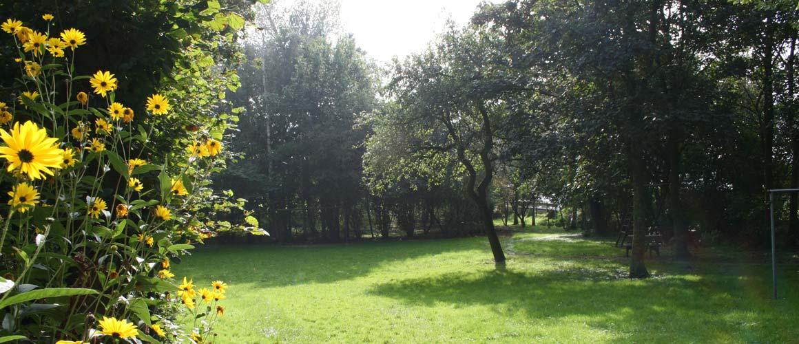 """Garten Freizeitheim """"Altes Pfarrhaus"""" Mitling-Mark"""