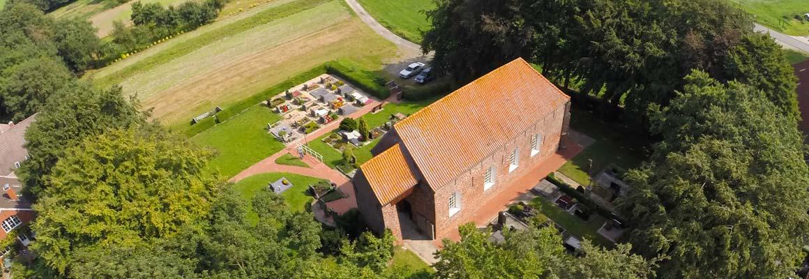 Luftbild Kirche Mitling-Mark