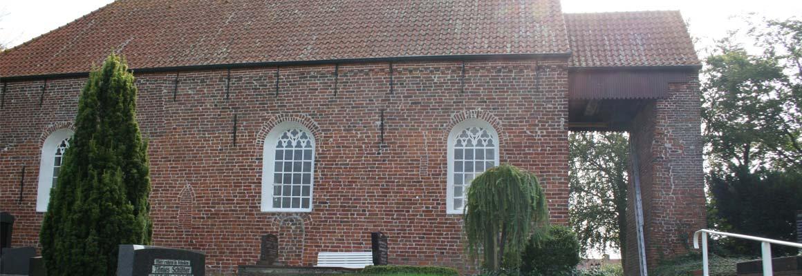 Außenansicht Kirche Mitling-Mark