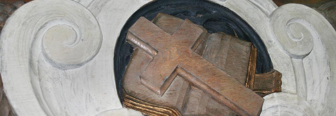 Holzornament Kirche Mitling-Mark