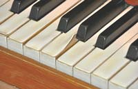 Klaviatur | Orgelrettung Kirche Mitling-Mark