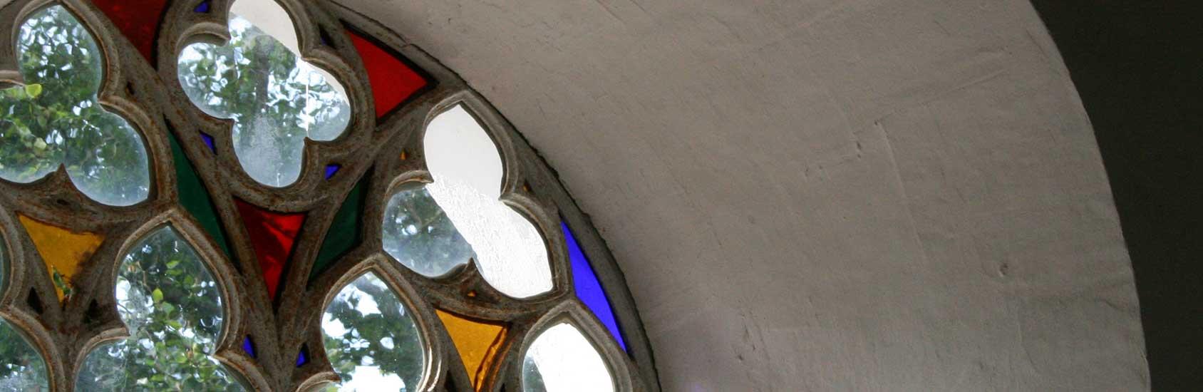 Kirchenfenster Kirche Mitling-Mark